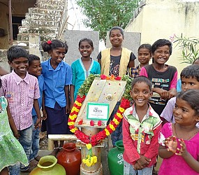 SAFE AND CLEAN DRINKING WATER BOREWELL IN  REMOTE WATER SCARCITY VILLAGES