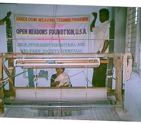 Empowerment of Rural Poor Women through Handloom Weaving