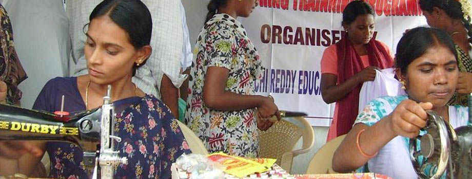 Tailoring Program for Poor Women and Girls
