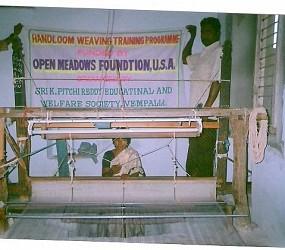 Empowerment of Rural Poor Women through Handloom Weaving