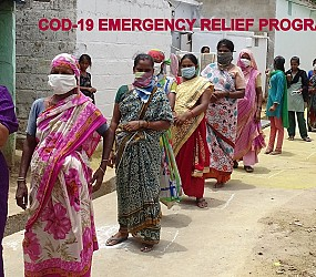 Covid-19 Emergency Relief – Distribution of Essential Commodities to Poor people
